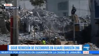 Inicia Demolición Edificio Colapsado Sismo Álvaro Obregón