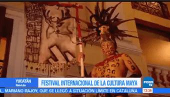 Inicia Sexta Edición Festival Internacional Cultura Maya Mérida Yucatán