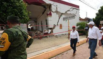 Inicia reconstrucción y reactivación económica en Oaxaca