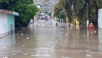 inundaciones en torreon provoca algunos damnificados
