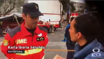 Jefe Emergencias España Colaboró México Tras Sismo