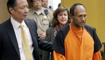 Enjuician inmigrante mexicano que mató mujer San Francisco