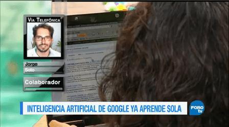 Colaboración Jorge Soto Inteligencia Artificial Google
