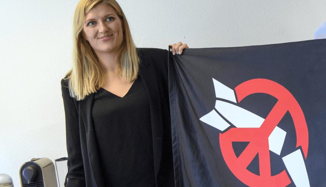 La directora ejecutiva de (ICAN, Beatriz Fihn