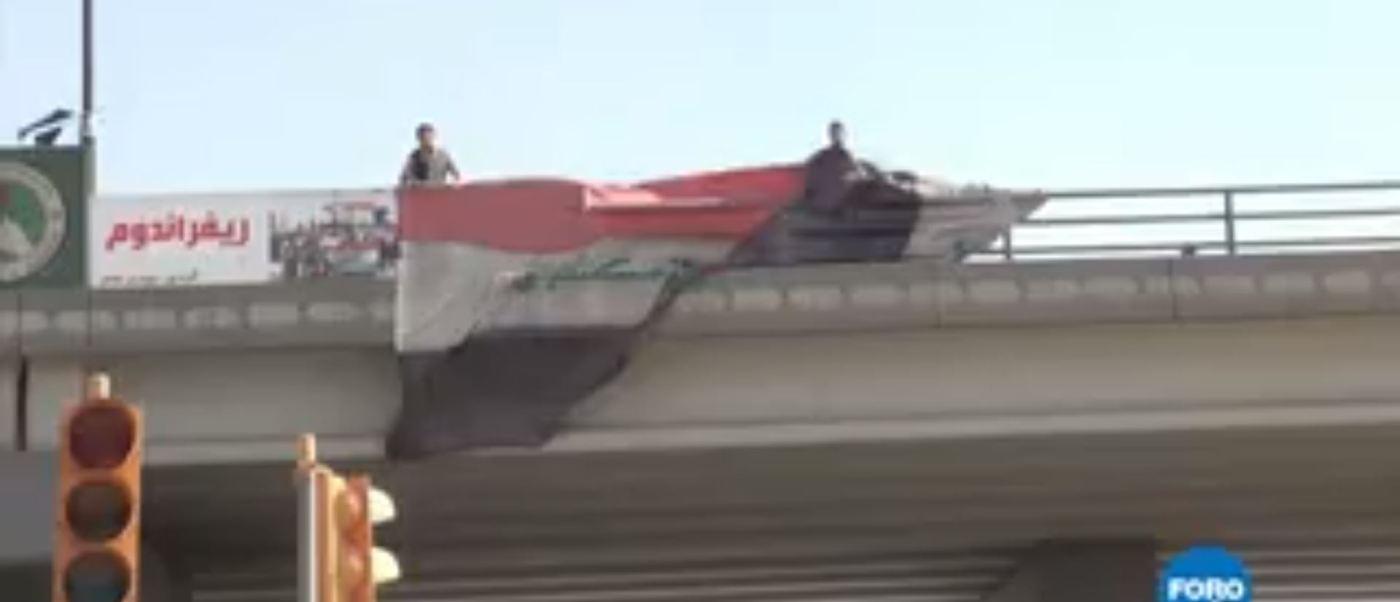 La toma de la ciudad de Kirkuk Irak