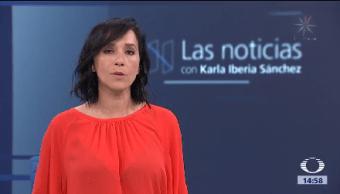 Las noticias, con Karla Iberia: Programa del 20 de octubre de 2017
