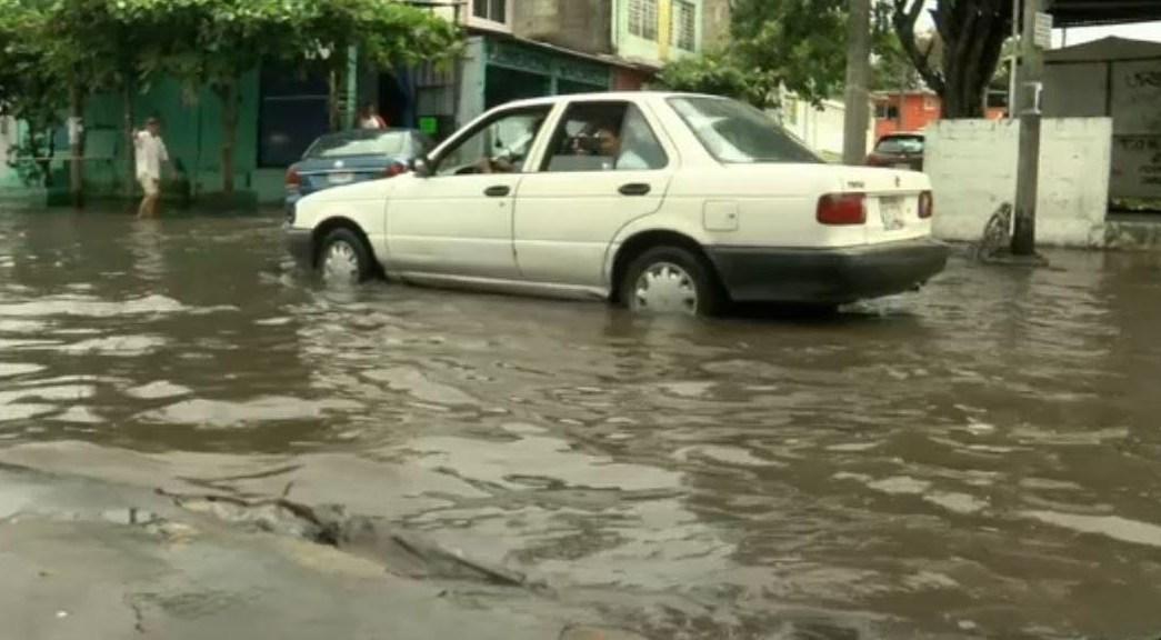 lluvias en veracruz afectan calles