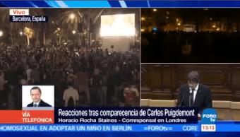 Londres Mantenía Expectativa Tema Independencia Cataluña