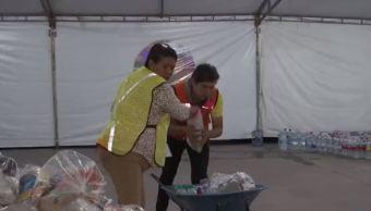 Lupita Muñoz, voluntaria de Tepito apoya a damnificados