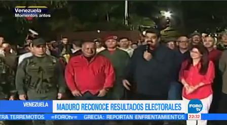 Maduro Presume Resultados Electorales Venezuela