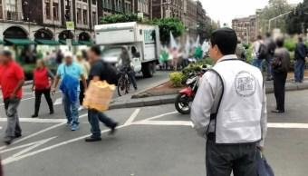marchan zocalo pedir apoyo sismo cdmx