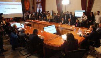 Hacen públicos los bienes asegurados a Javier Duarte