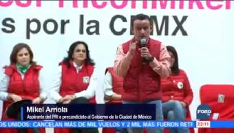 Mikel Arriola Reúne Mujeres Priistas Aspirante Precandidato Pri