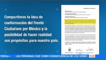 Moreno Zavala Aureoles Favor Elección Abierta Frente Ciudadano