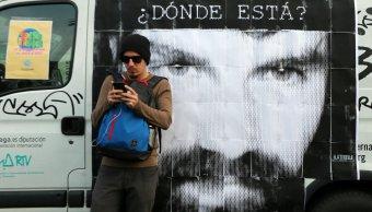 Cadáver hallado río argentino es activista Santiago Maldonado