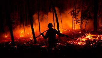 Van 45 muertos incendios forestales España y Portugal
