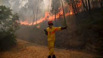 Asciende 44 cifra muertos incendios Portugal