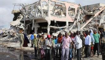 Suman 189 muertos por coche bomba en Somalia