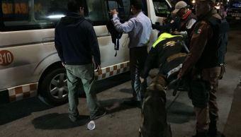 Detienen a 74 presuntos delincuentes durante operativo en Naucalpan