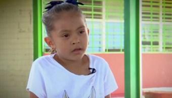 niña jade pide que le arreglen su escuela en oaxaca