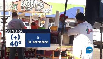 No cede el calor extremo en Sonora