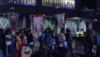 Peregrinación de Atlacomulco llega a la Basílica de Guadalupe