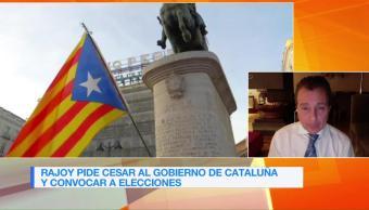 Presidente Catalán podría ir a discutir artículo 155 a Madrid