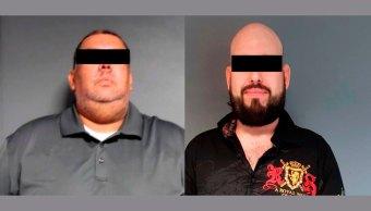 Detienen a dos presuntos delincuentes en Tamaulipas