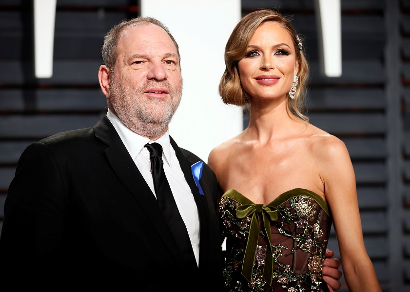 'Mi corazón se rompe por mujeres han sufrido', dice esposa de Weinstein