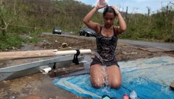 Puerto Rico levanta toque de queda tras huracán 'María'