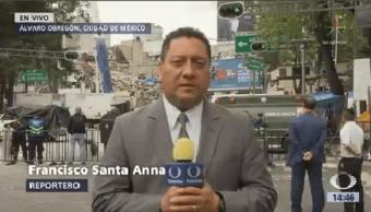 Queda Un Cuerpo Entre Escombros Álvaro Obregón