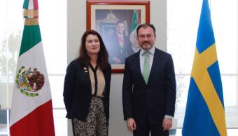 Videgaray firma Hoja de Ruta para fortalecer la relación México Suecia