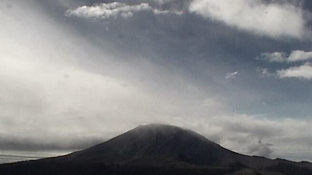 Reporte del monitoreo del volcán Popocatépetl
