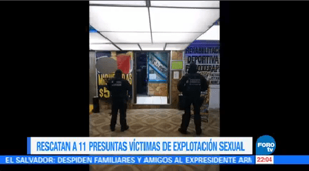 Rescatan 11 Presuntas Víctimas Explotación Sexual Ciudad De México