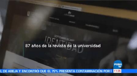 Revista Universidad México Cumple 87 Años Escritora Guadalupe Nettel