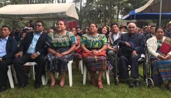 Rigoberta Menchú celebra 25 años de Premio Nobel con música de mariachi