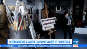 Senado República Reconoce Martha Chapa 50 Años Trayectoria