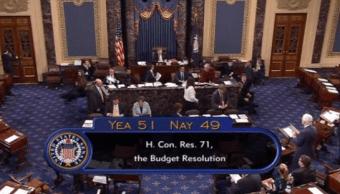 Senado Estados Unidos aprueba presupuesto billonario año fiscal 2018