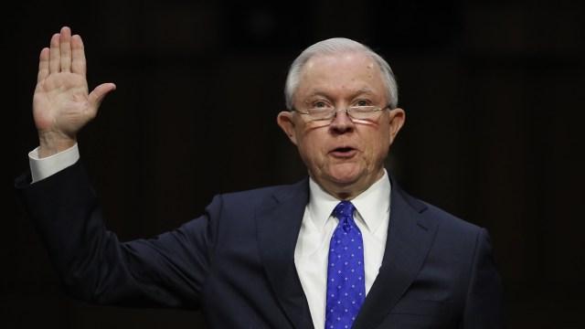 El Fiscal General de EU, Jeff Sessions. (AP, archivo)