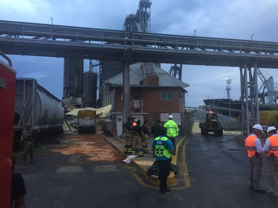 colapso de silo provoca dos desaparecidos en veracruz