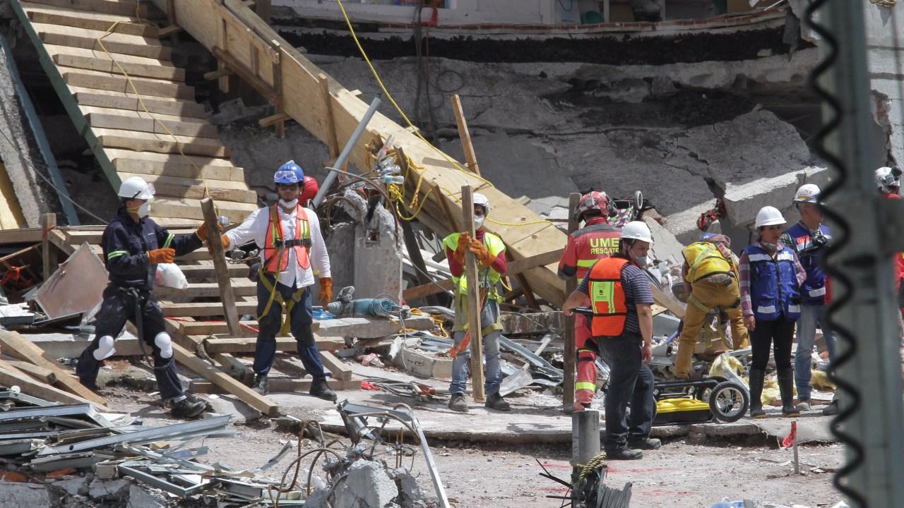 Anuncian medidas para la reconstrucción en CDMX tras sismo