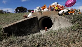 Sitio donde encontraron un cuerpo que podría ser el de Sherin Matthews