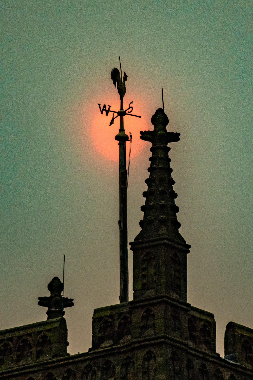 Apocalíptico, Sol rojo, Cielos Amarillos, Huracán Ofelia