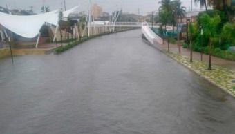 alcaldesa tampico lo declara emergencia intensa lluvia