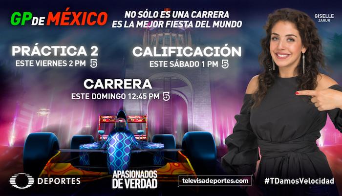 Gran Premio de México por Televisa Deportes