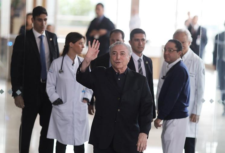 Presidente de Brasil deja el hospital tras cirugía urológica