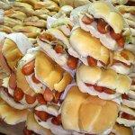Tortas de salchicha