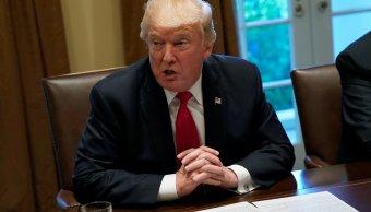 Trump pedirá Congreso que revise acuerdo nuclear Irán