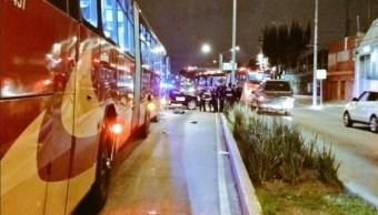 unidad del metrobus mata a un hombre sobre avenida vallejo