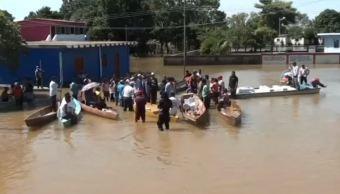 veracruz reporta varios municipios afectados por inundaciones